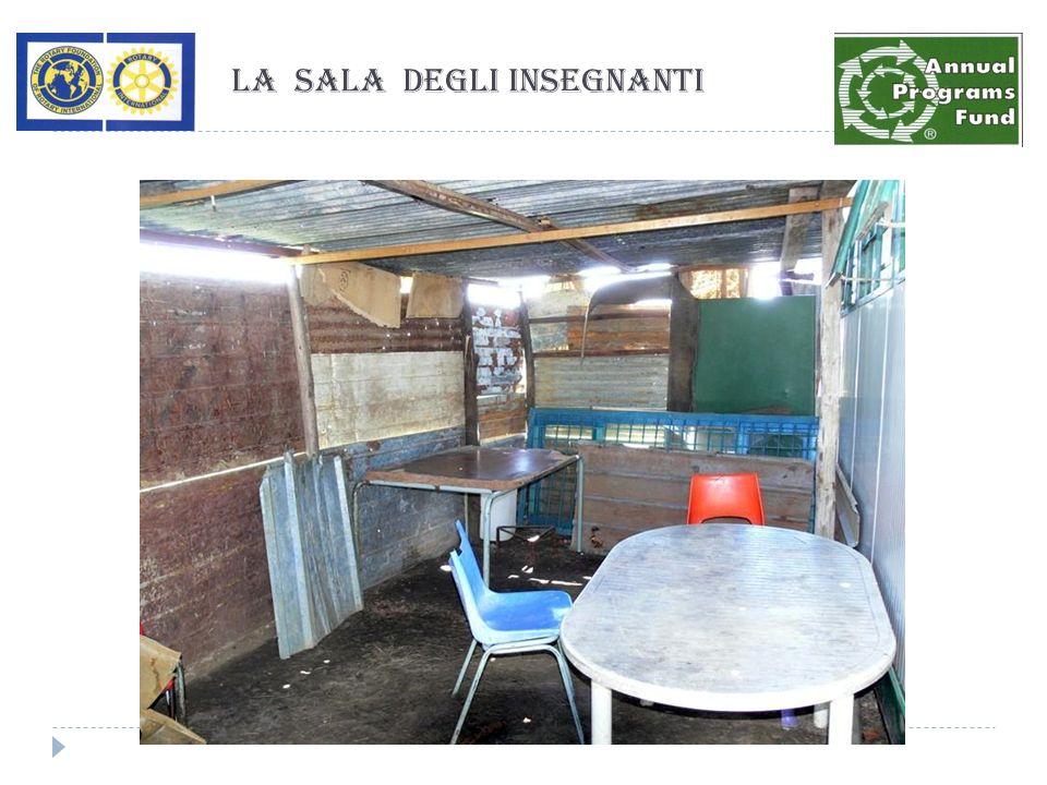 La sala degli insegnanti
