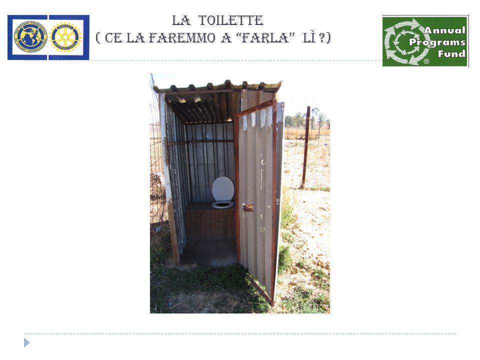 La Toilette ( ce la faremmo a farla lì ?)