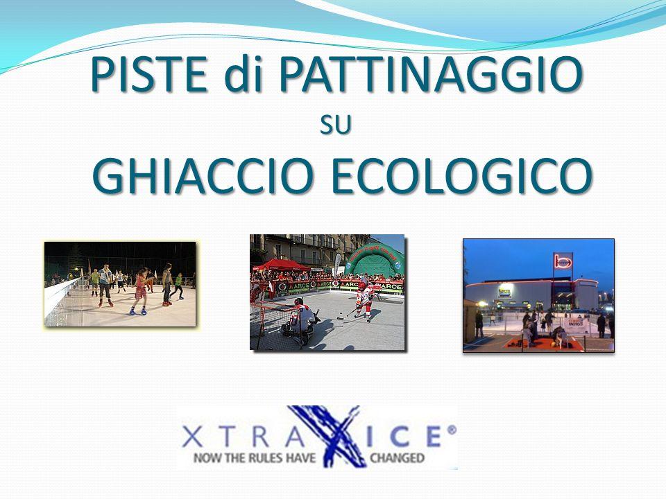 PISTE di PATTINAGGIO SU GHIACCIO ECOLOGICO