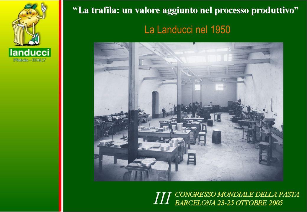 La Landucci nel 1950