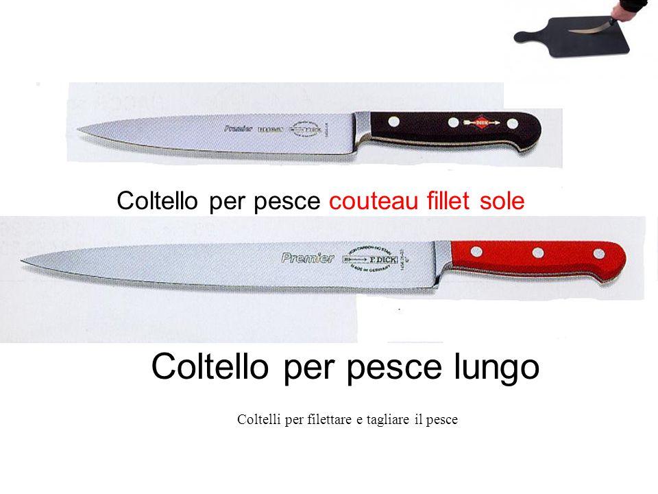 Coltello per pesce couteau fillet sole Coltello per pesce lungo Coltelli per filettare e tagliare il pesce