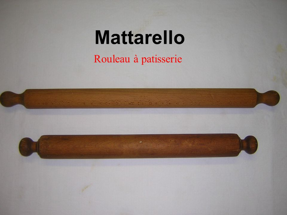 Mattarello Rouleau à patisserie