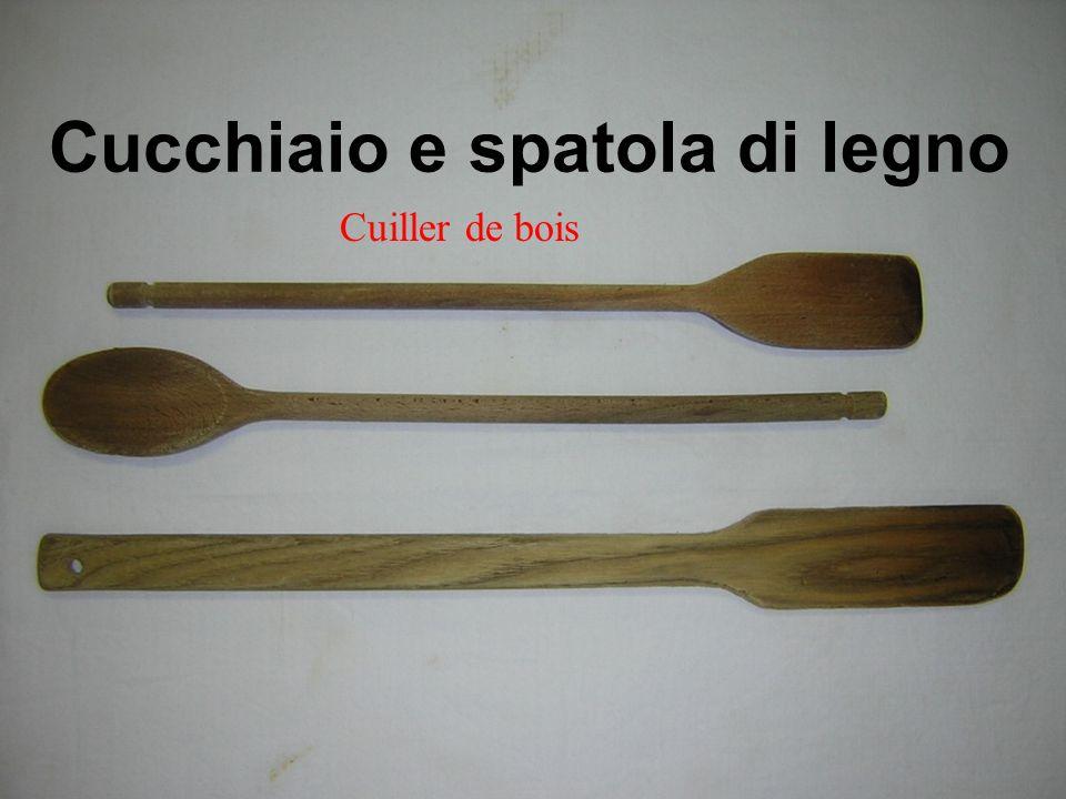 Cucchiaio e spatola di legno Cuiller de bois