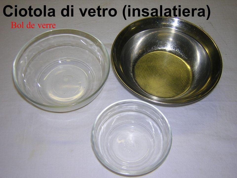 Ciotola di vetro (insalatiera) Bol de verre