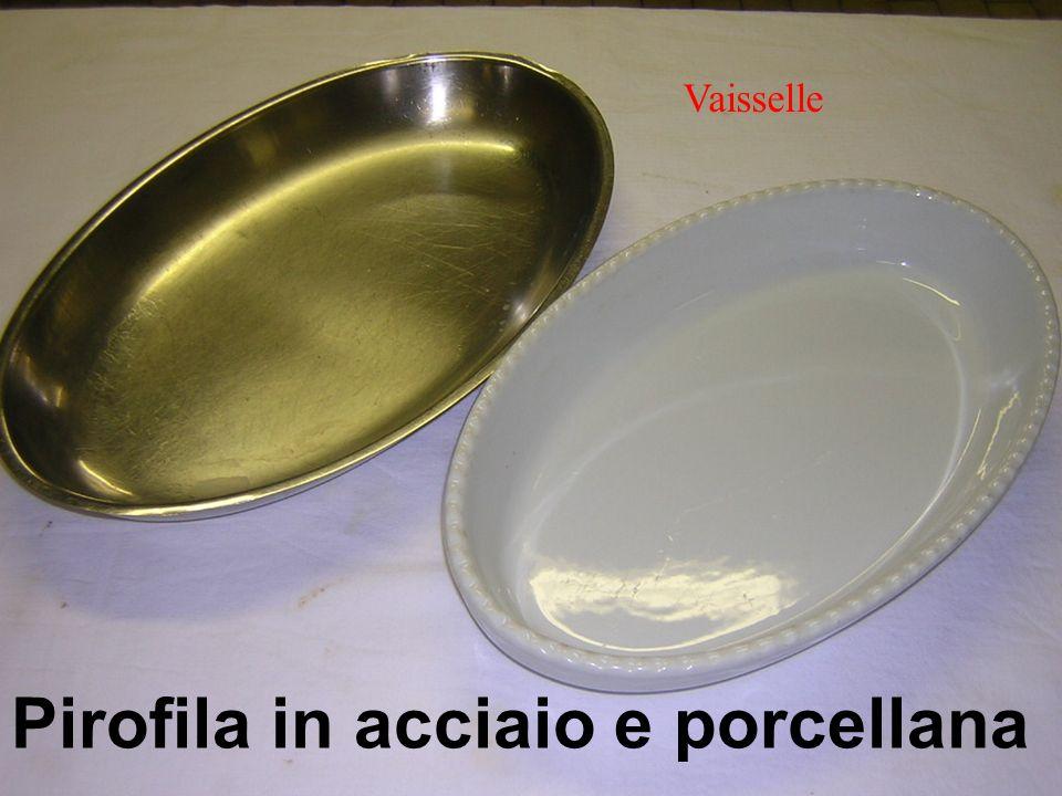 Pirofila in acciaio e porcellana Vaisselle