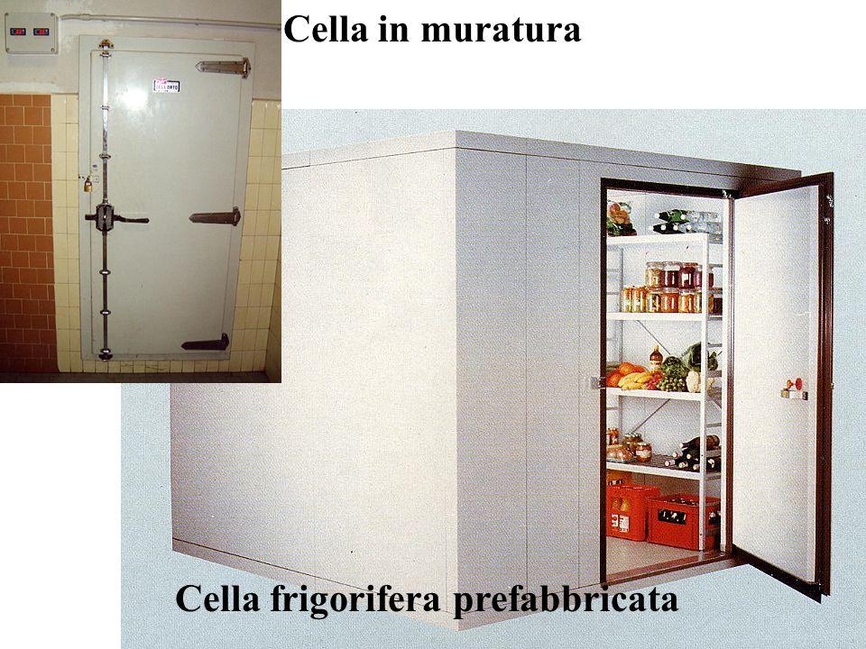 Cella frigorifera prefabbricata Cella in muratura