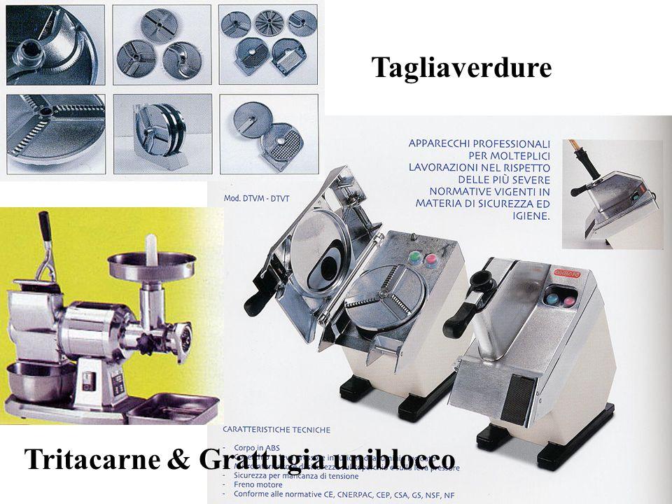 Tagliaverdure Tritacarne & Grattugia uniblocco