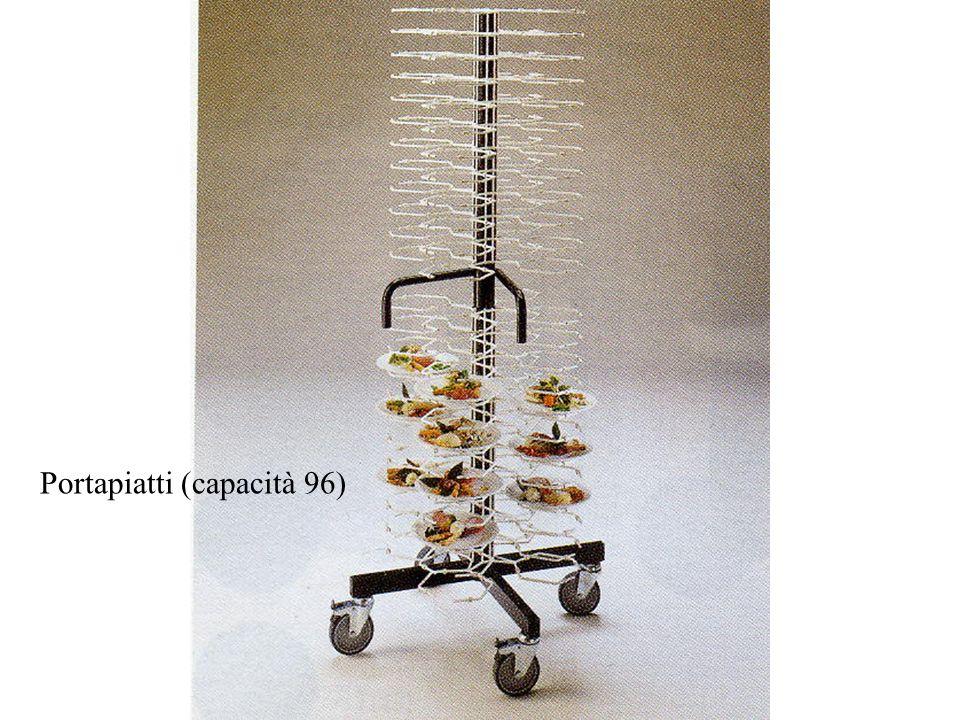 Portapiatti (capacità 96)