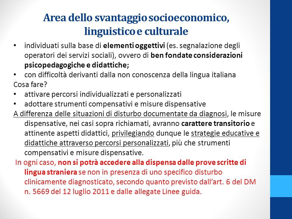 Alunni stranieri In particolare per quanto concerne gli alunni con cittadinanza non italiana necessitano innanzitutto interventi didattici relativi allapprendimento della lingua e, solo in via eccezionale, della formalizzazione tramite un PDP (CM n.