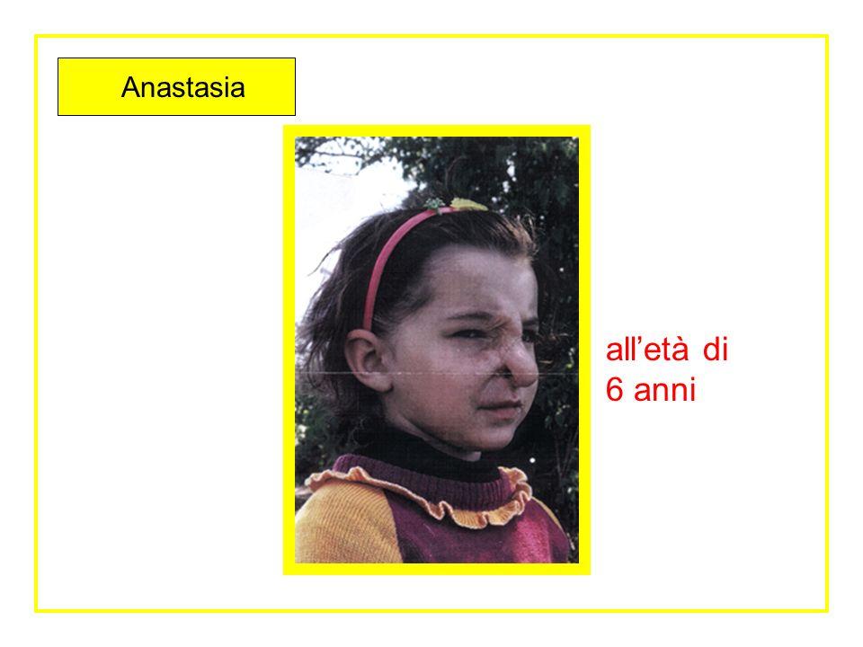 Anastasia alletà di 6 mesi