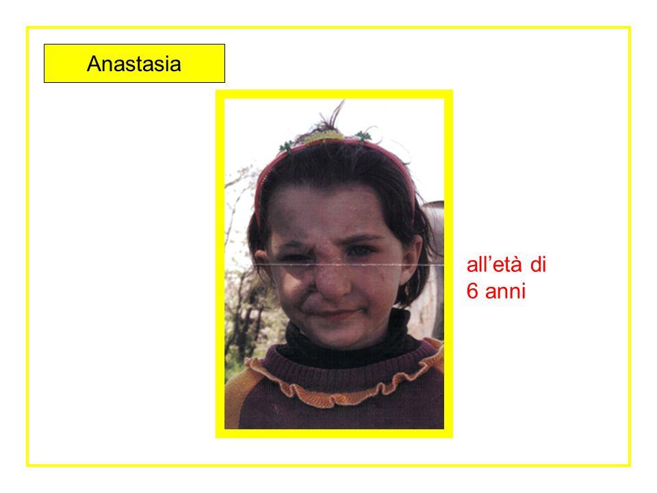 Anastasia alletà di 6 anni