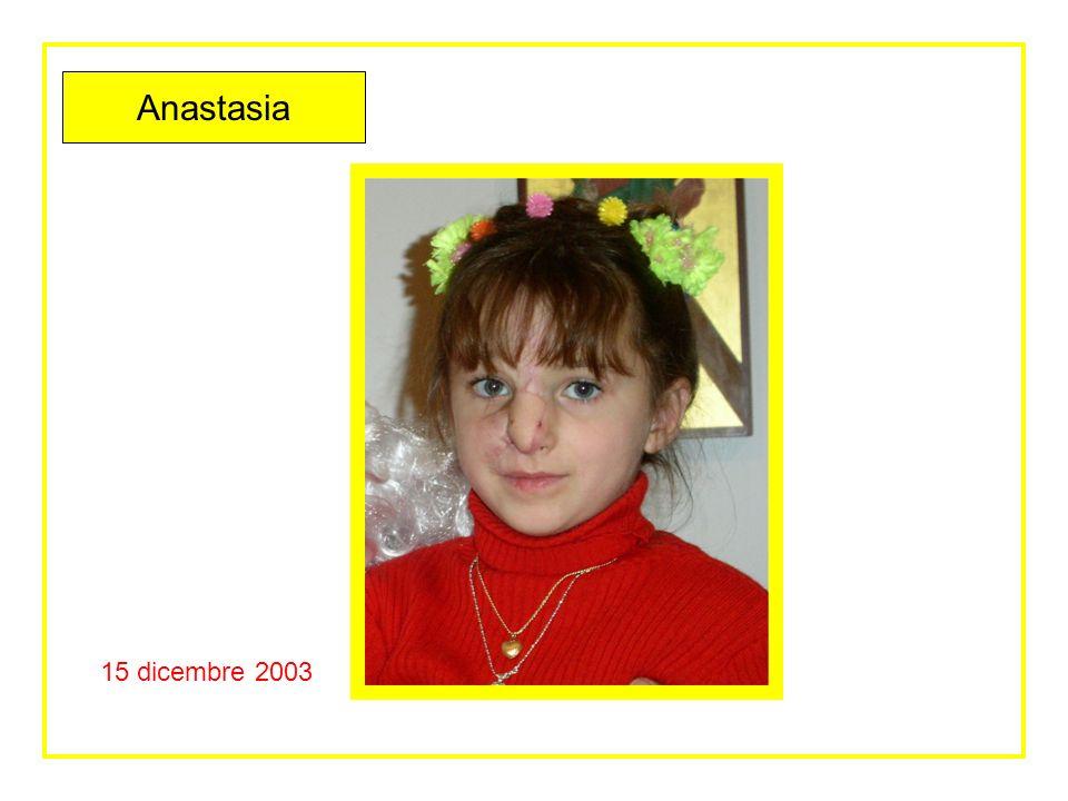 15 dicembre 2003 Anastasia festeggiata a Mirano prima del rientro in Bielorussia