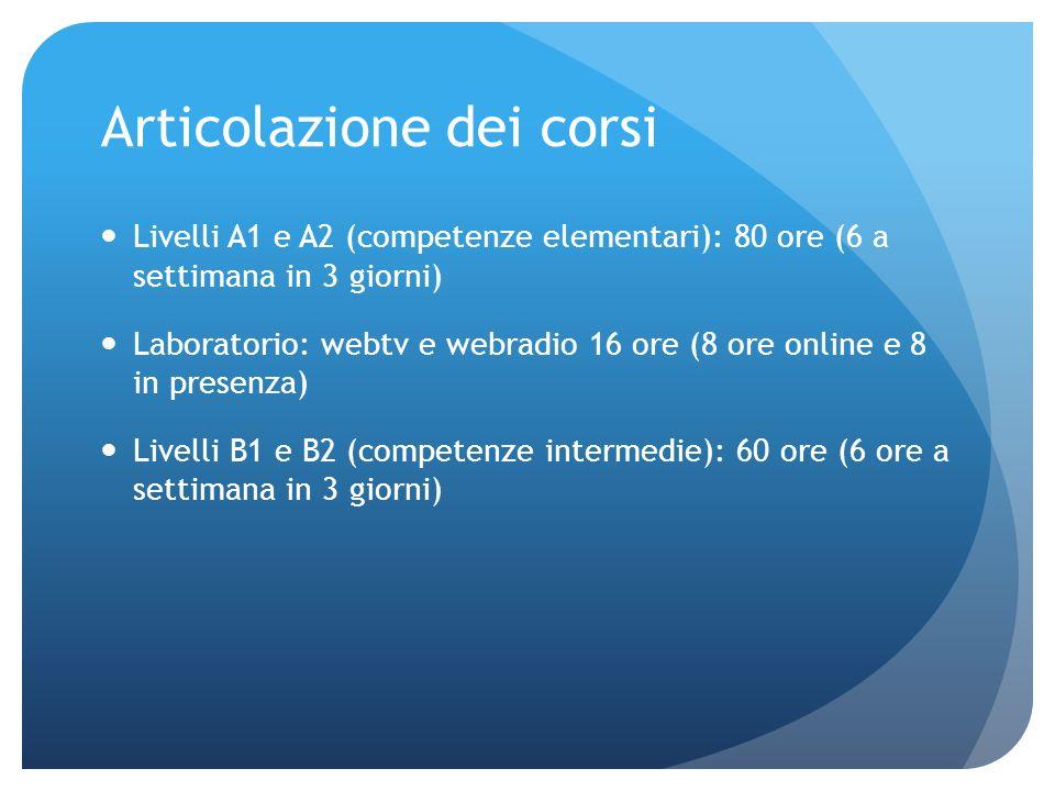 Problemi organizzativi Studenti afferenti a diversi corsi di laurea Coincidenza dei corsi dei singoli curriculum di studio e dei corsi di italiano Impossibilità di fare un orario adatto a tutti Disattesa dei bisogni degli studenti di potenziare il linguaggio specialistico