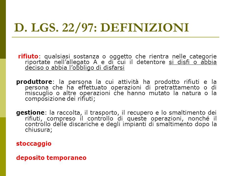 CONSERVAZIONE REGISTRO Produttori Recuperatori Smaltitori nell impianto Trasportatori intermediari e commercianti presso la sede Piccoli produttori: < di 5 ton.