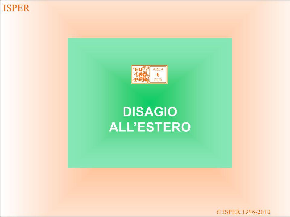ISPER © ISPER 1996-2010 DSE DISAGIO ALLESTERO