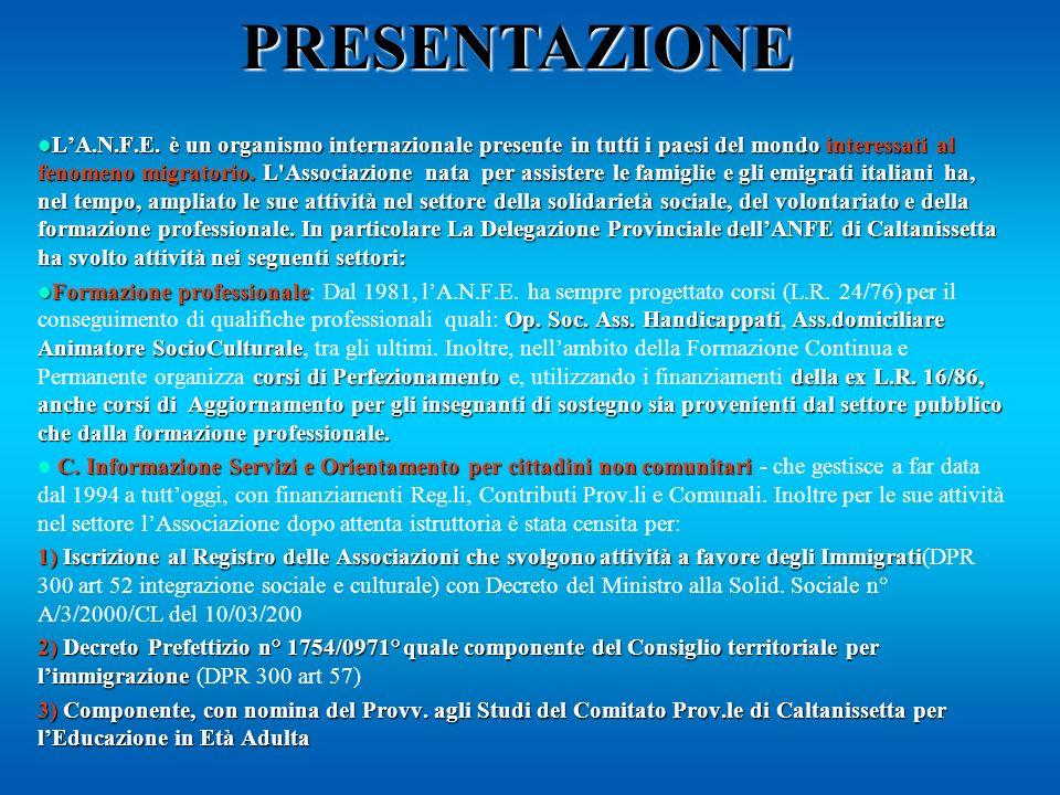 Corso Sperimentale Biennale di Formazione per l Assolvimento dell Obbligo Scolastico e il conseguimento di una Qualifica di base nei Servizi Progetto Franti