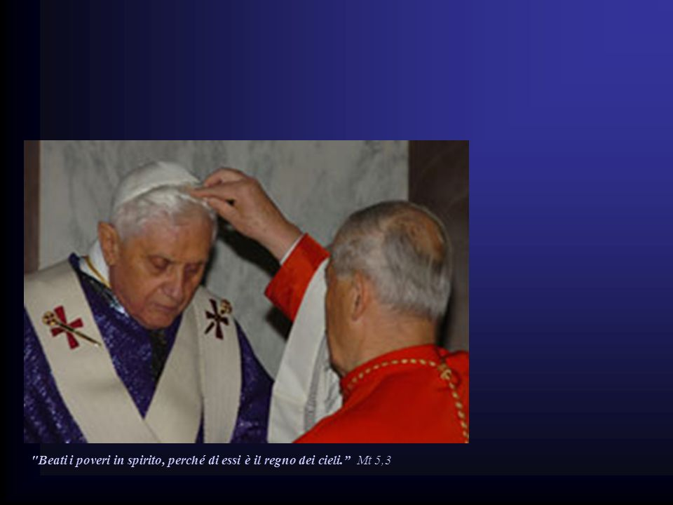 Io sto col Papa.E voi.