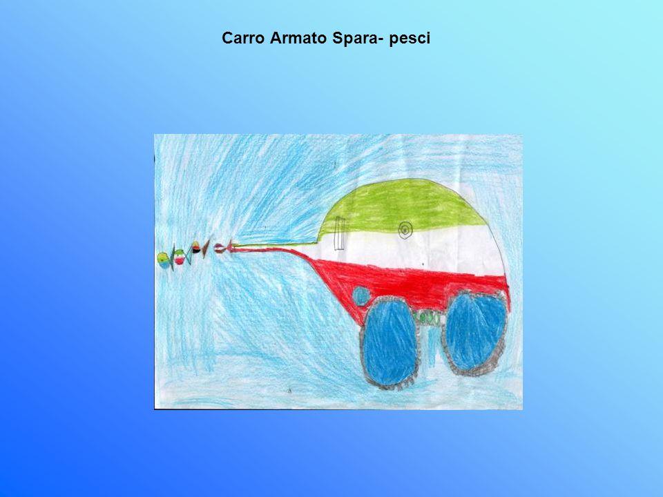 Carro Armato Spara- pesci