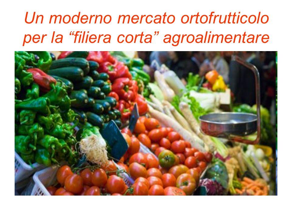 Un moderno mercato ortofrutticolo per la filiera corta agroalimentare