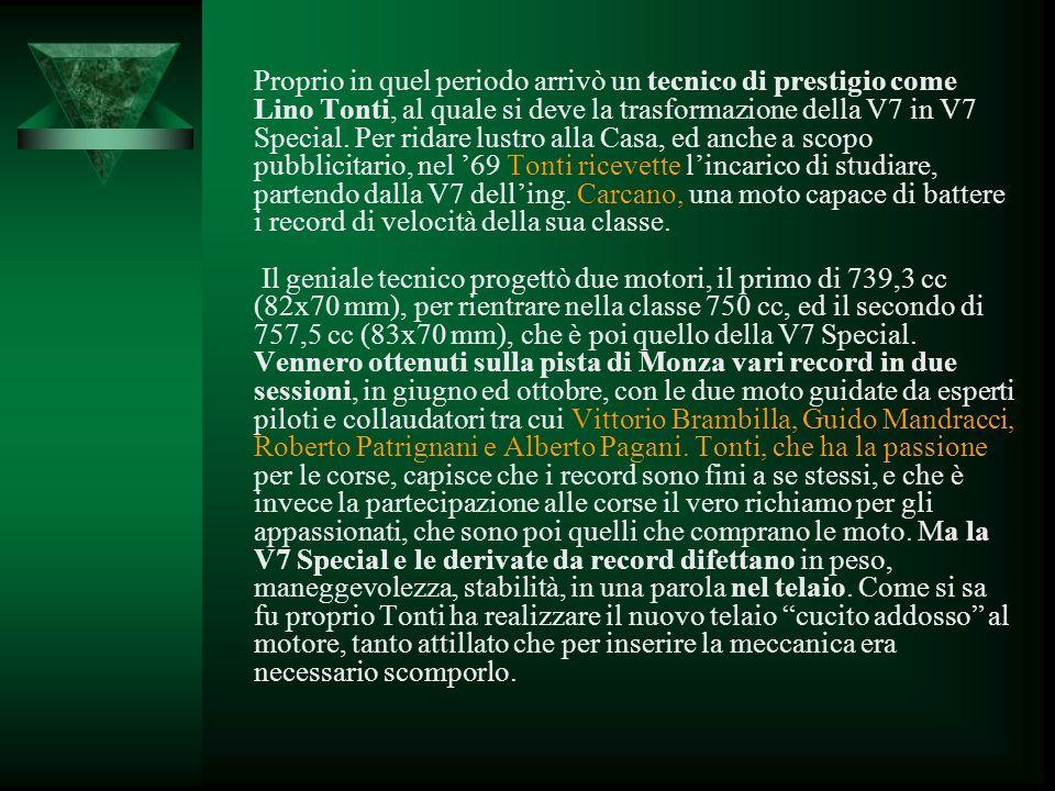 Ettorone se ben ricordi … È chiaro che la Le Mans nasce come sviluppo della serie V7, la maxi che risultò fondamentale per il rilancio della Casa di M
