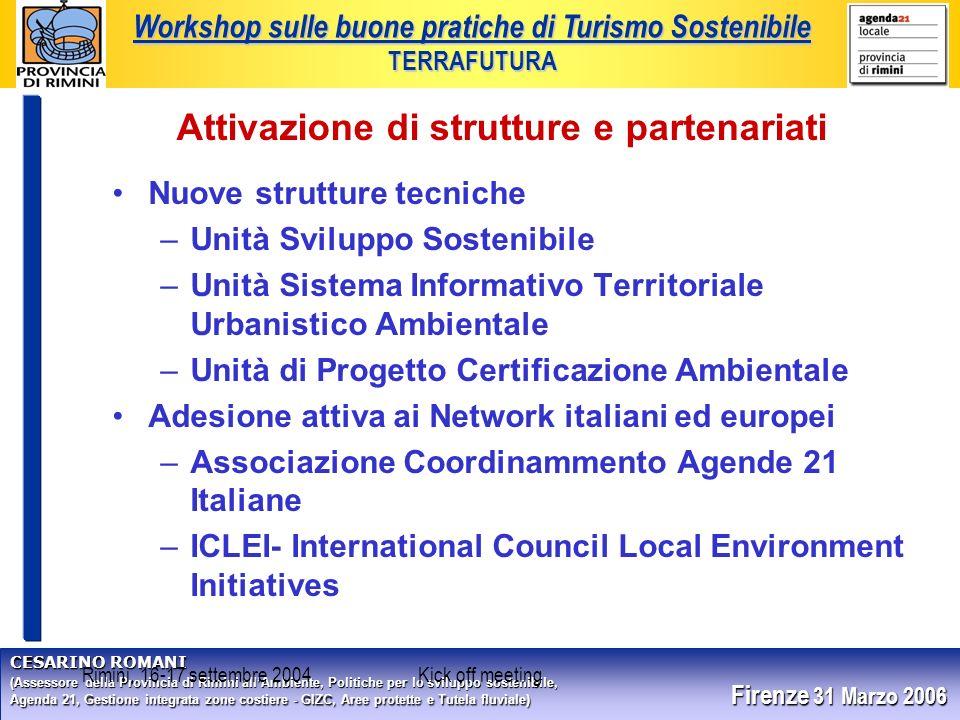 CESARINO ROMANI (Assessore della Provincia di Rimini allAmbiente, Politiche per lo sviluppo sostenibile, Agenda 21, Gestione integrata zone costiere -