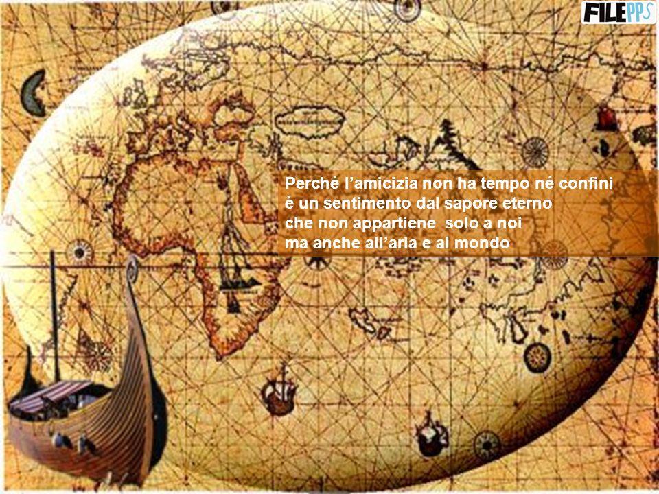 Un giorno dovremo dirci addio ma forse anche nellal di là in geografie sconosciute di altri mondi, troveremo la via per rivederci