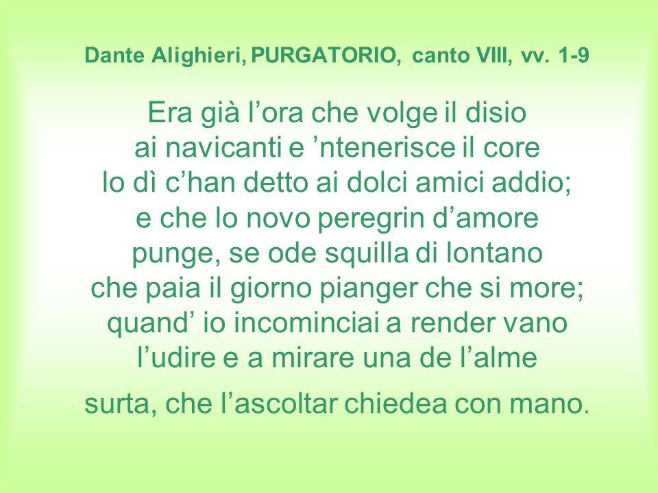 DANTE ALIGHIERI, INFERNO, canto XXVI, vv.