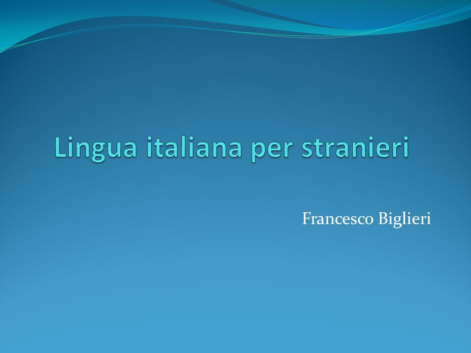 Francesco Biglieri