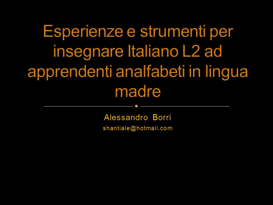 Alessandro Borri shantiale@hotmail.com