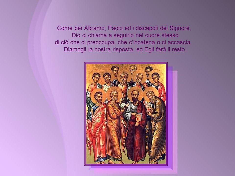 In questa seconda domenica di Quaresima, Gesù ci porta in disparte per pregare, come l' ha fatto coi suoi discepoli sulla montagna. Lasciamoci toccare