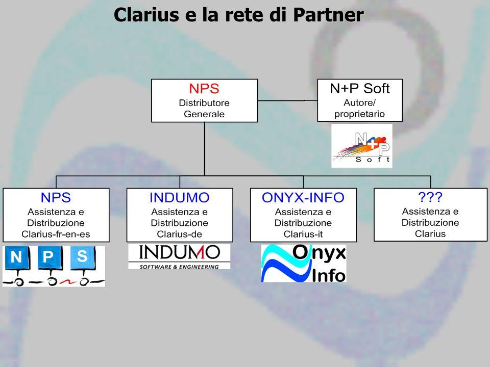 Clarius e la rete di Partner