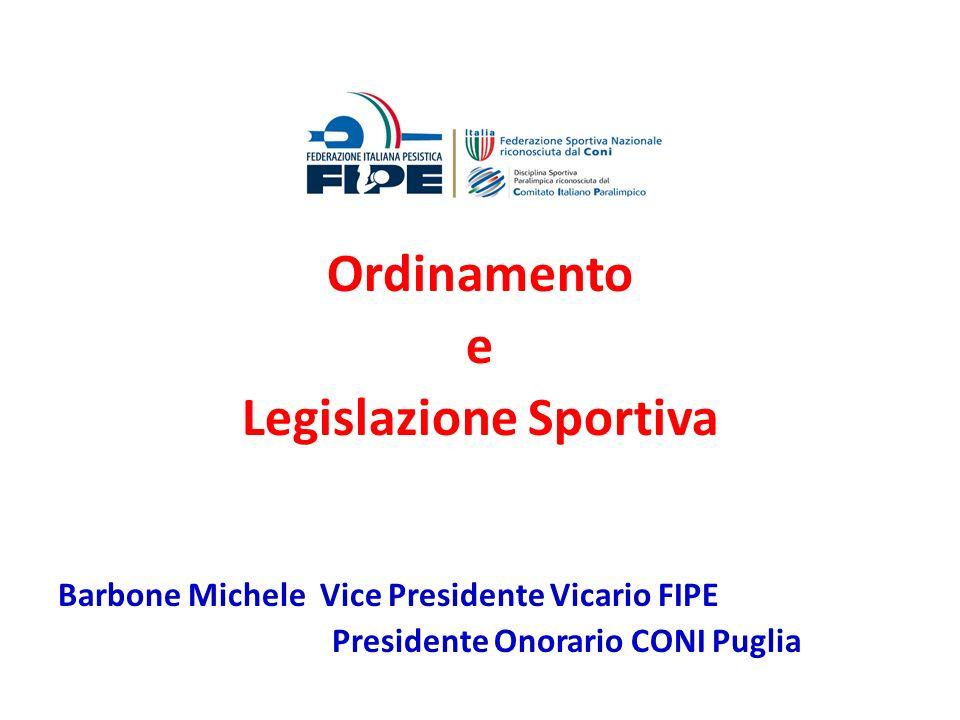 Le Società e le Associazioni Sportive riconosciute ai sensi dellart.