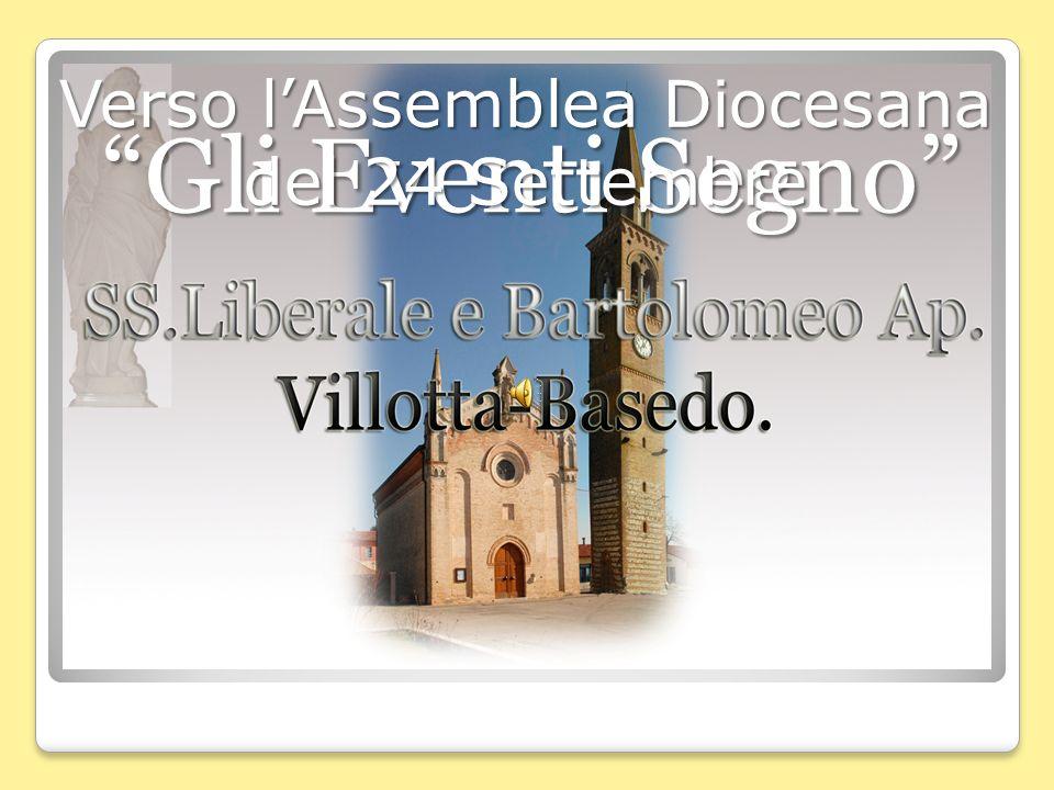 Gli Eventi Segno Verso lAssemblea Diocesana del 24 Settembre