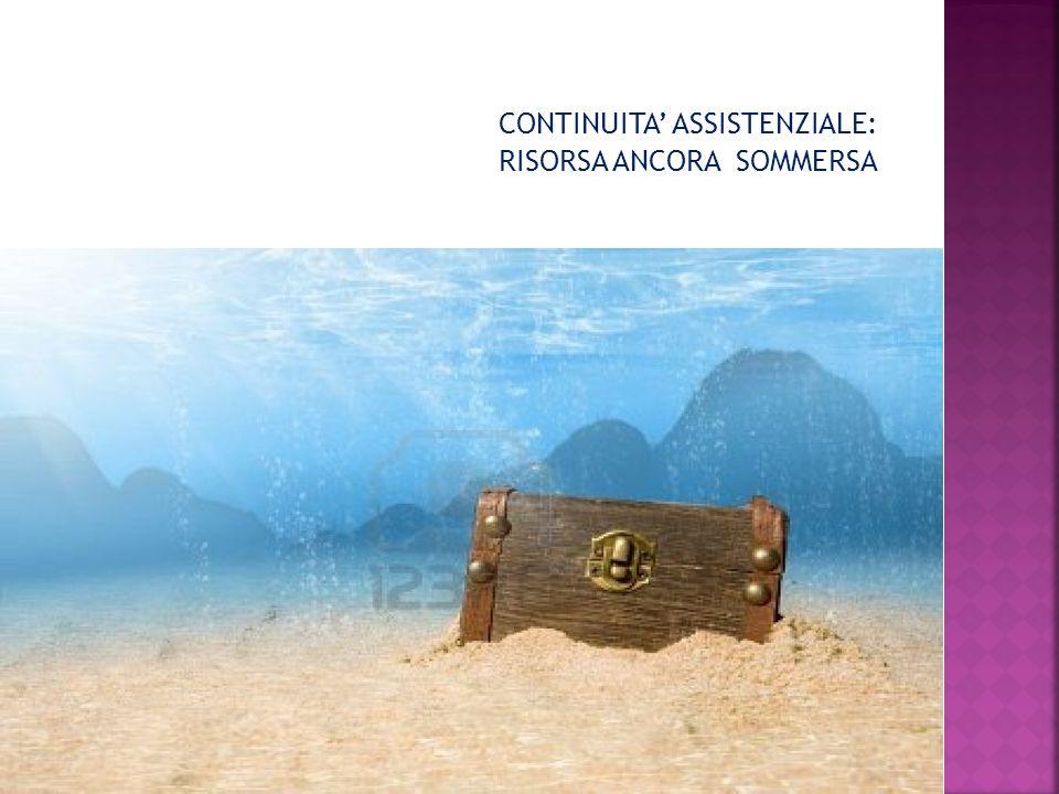 CONTINUITA ASSISTENZIALE: RISORSA ANCORA SOMMERSA