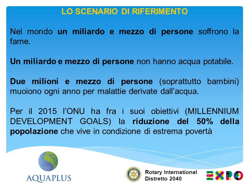 AQUAPLUS: LO SCOPO GENERALE Realizzare e mettere a punto delle best practice replicabili per un utilizzo efficiente dellacqua: sia per uso domestico che per uso agricolo.