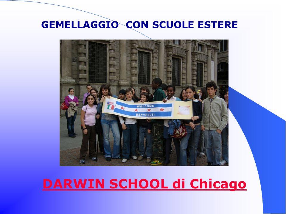 GEMELLAGGIO CON SCUOLE ESTERE DARWIN SCHOOL di Chicago