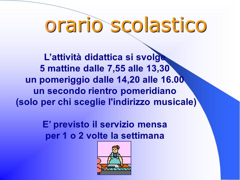 CURRICOLO OBBLIGATORIO PER TUTTE LE CLASSI Uno spazio corrisponde a 55 minuti ATTIVITA DI BASE 32 SPAZI ITALIANO STORIA e GEOGRAFIA9 SPAZI APPROFONDIMENTO1 SPAZIO MATEMATICA e SCIENZE6 SPAZI INGLESE3 SPAZI FRANCESE2 SPAZI MUSICA2 SPAZI ARTE IMMAGINE2 SPAZI ATTIVITA MOTORIA2 SPAZI TECNOLOGIA INFORMATICA2 SPAZI RELIGIONE 1 SPAZIO MUSICA INSIEME/LABORATORI2 SPAZI