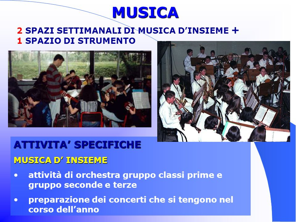 STRUMENTI DELLORCHESTRA STRUMENTI DELLORCHESTRA chitarra clarinetto flauto percussioni pianoforte violino
