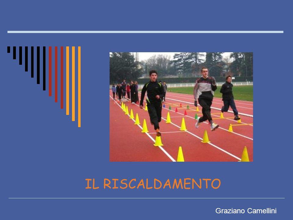 IL RISCALDAMENTO Il riscaldamento è un insieme di esercizi che permette di prepararsi psicologicamente (concentrazione) e fisicamente prima di un allenamento o di una competizione e che gioca un ruolo importante per prevenire eventuali incidenti muscolari.