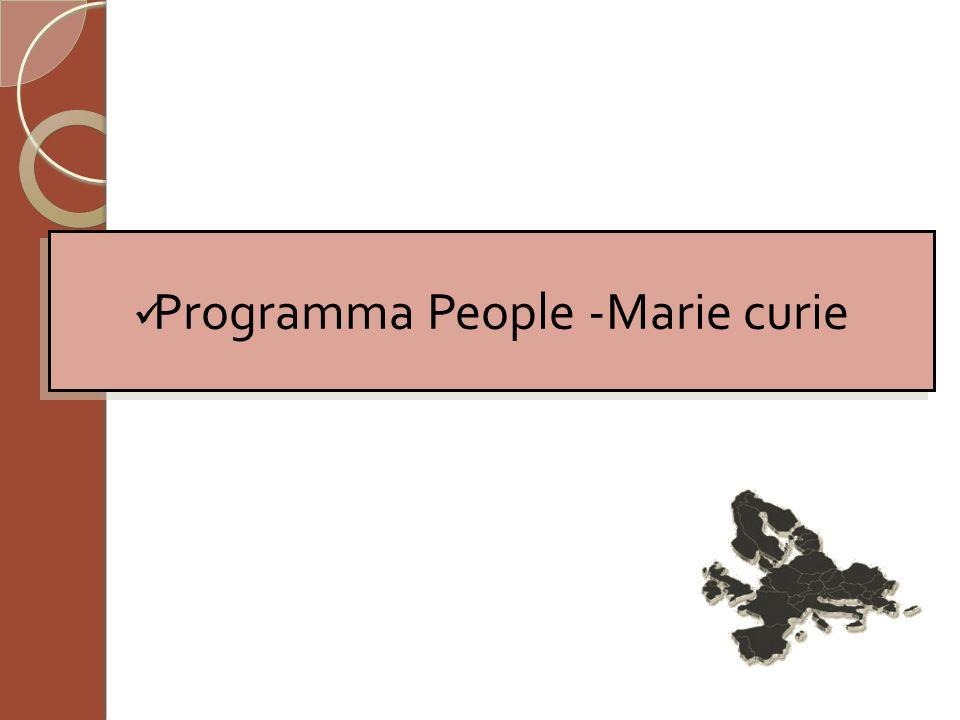 Programma People -Marie curie