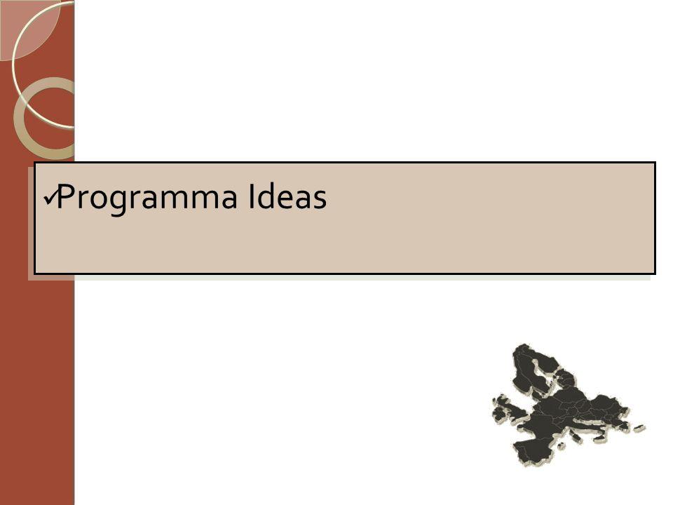 Programma Ideas