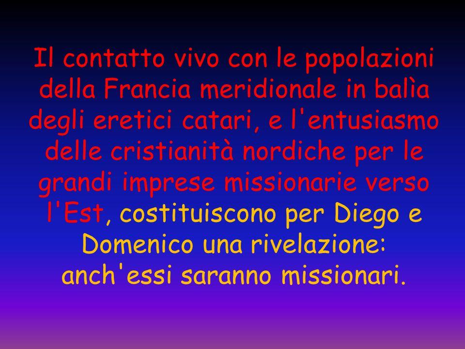 Successe anche che in questi viaggi verso Roma, Domenico conoscesse un altro personaggio straordinario: San Francesco dAssisi.