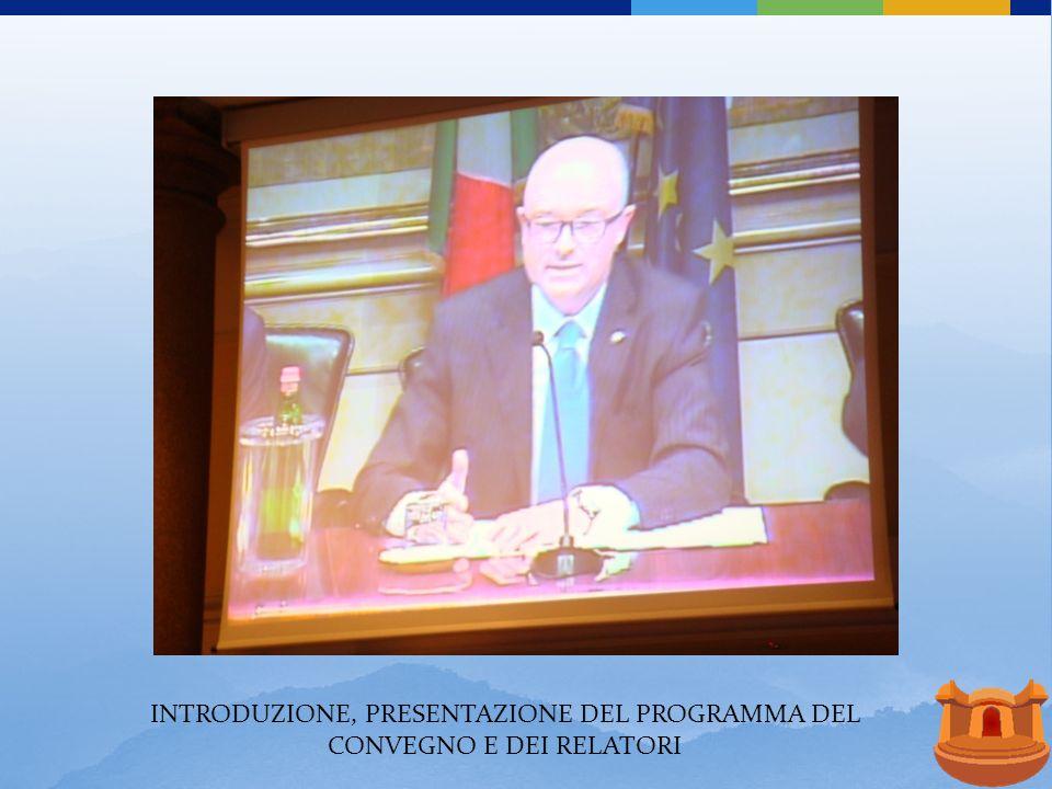 DOTT. ALBERTO BIANCARDI AUTORITA ENERGIA ELETTRICA E GAS I COSTI DEL ENERGIA