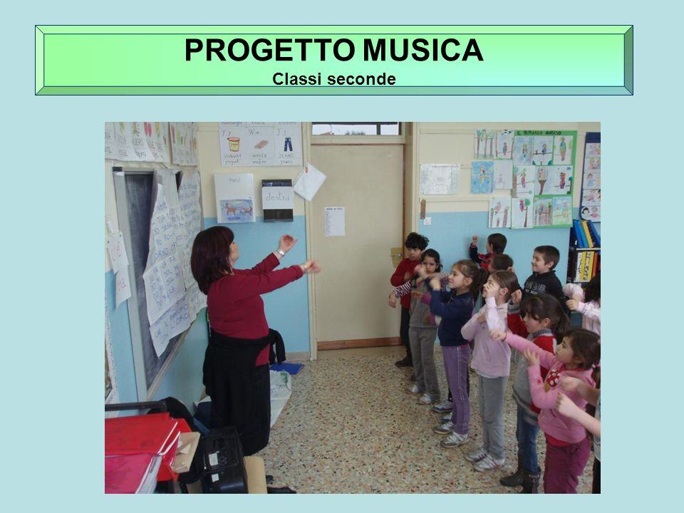 PROGETTO ARGILLA PROGETTO MUSICA Classi seconde