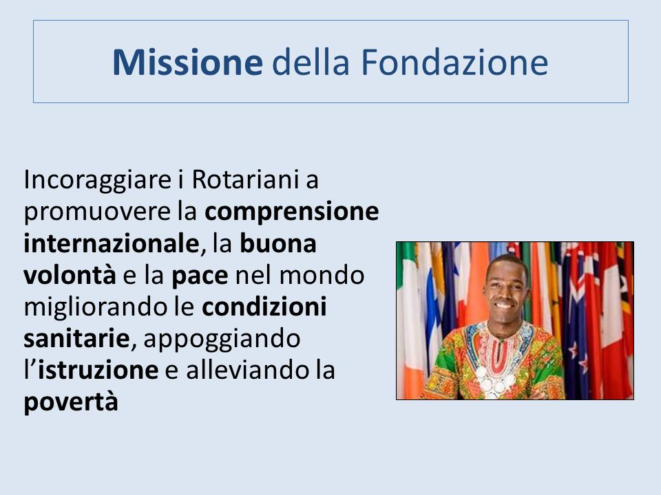 Contributi ITALIA a Fondazione Rotary