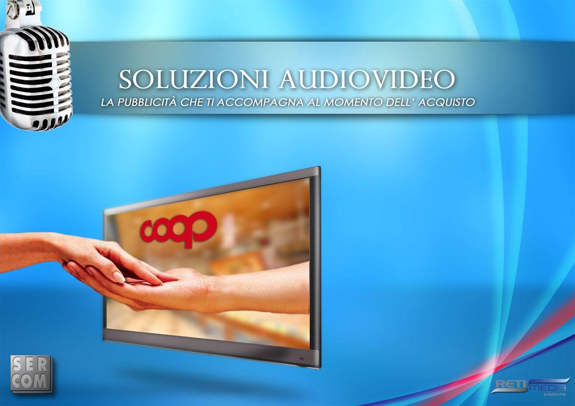 Radio Coop Ununica radio, con un unico palinsesto in 556 punti vendita tra Supermercati ed Ipermercati Coop e 9 milioni di contatti certificati.