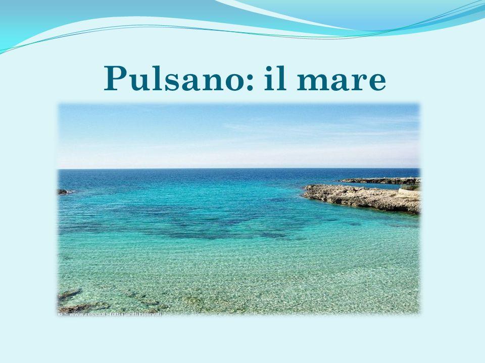 Pulsano: il mare