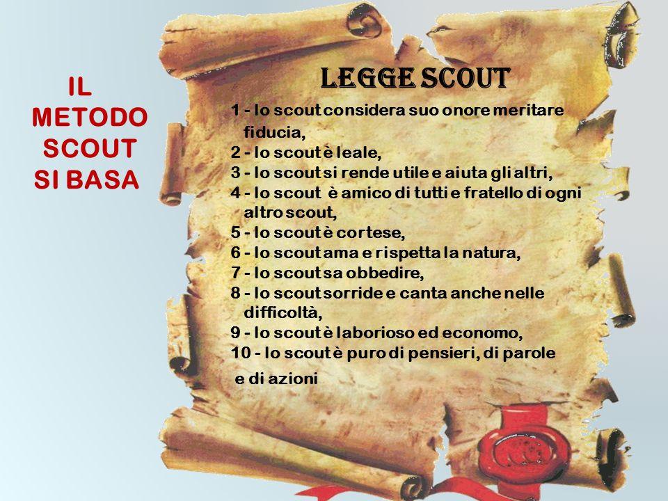Lo scoutismo è caratterizzato da un metodo educativo che aiuta le persone a diventare