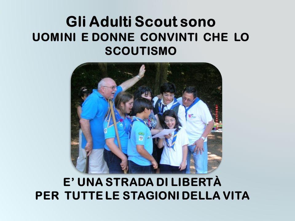 1954 L'organizzazione degli adulti scout diviene Movimento e assume la sigla M.A.S.C.I. MOVIMENTO ADULTI SCOUT CATTOLICI ITALIANI Dal 1965 possono ade