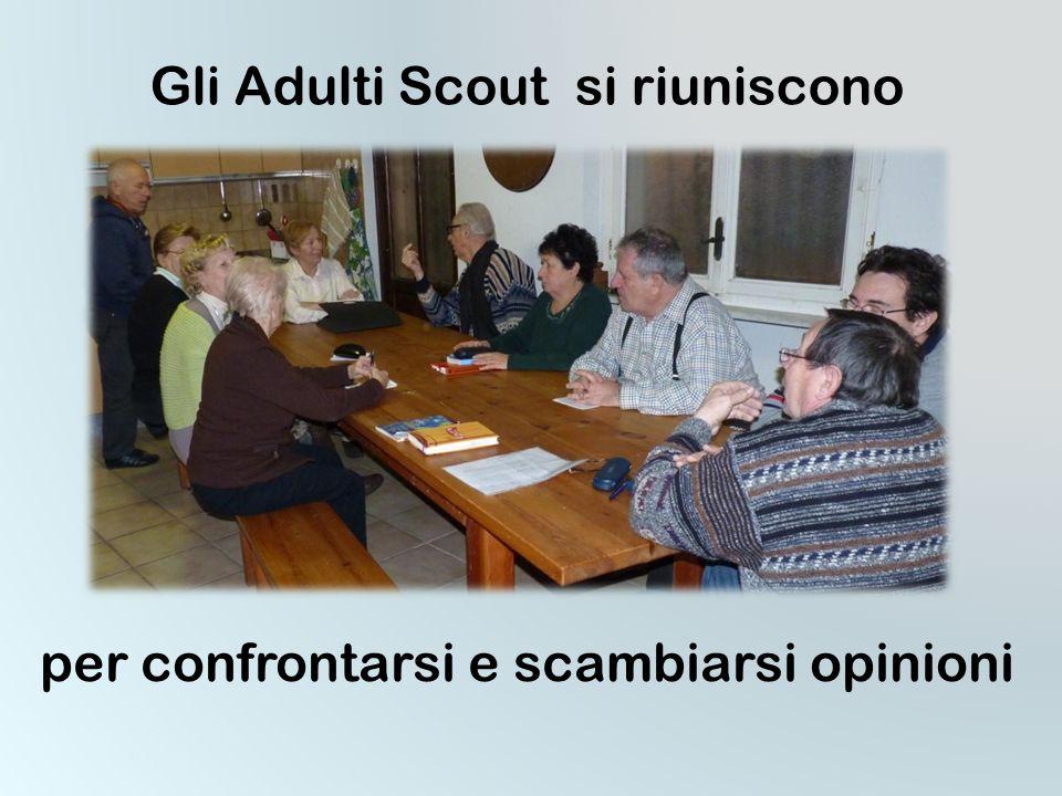 Esperienze di servizio METODO PER GLI ADULTI SCOUT individuale e comunitario